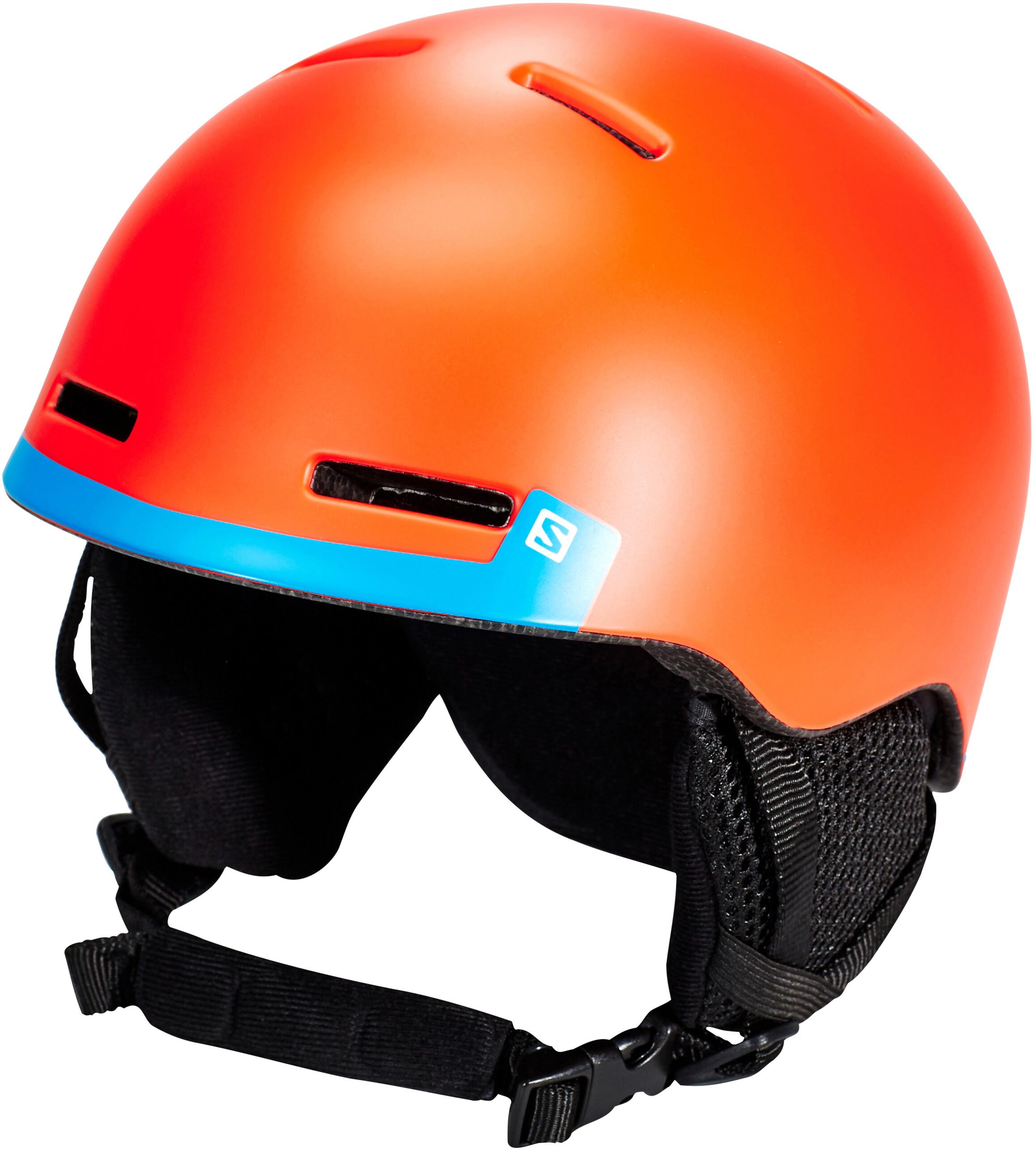 64167eecfa60 Salomon Grom Helmet orange turquoise at Addnature.co.uk